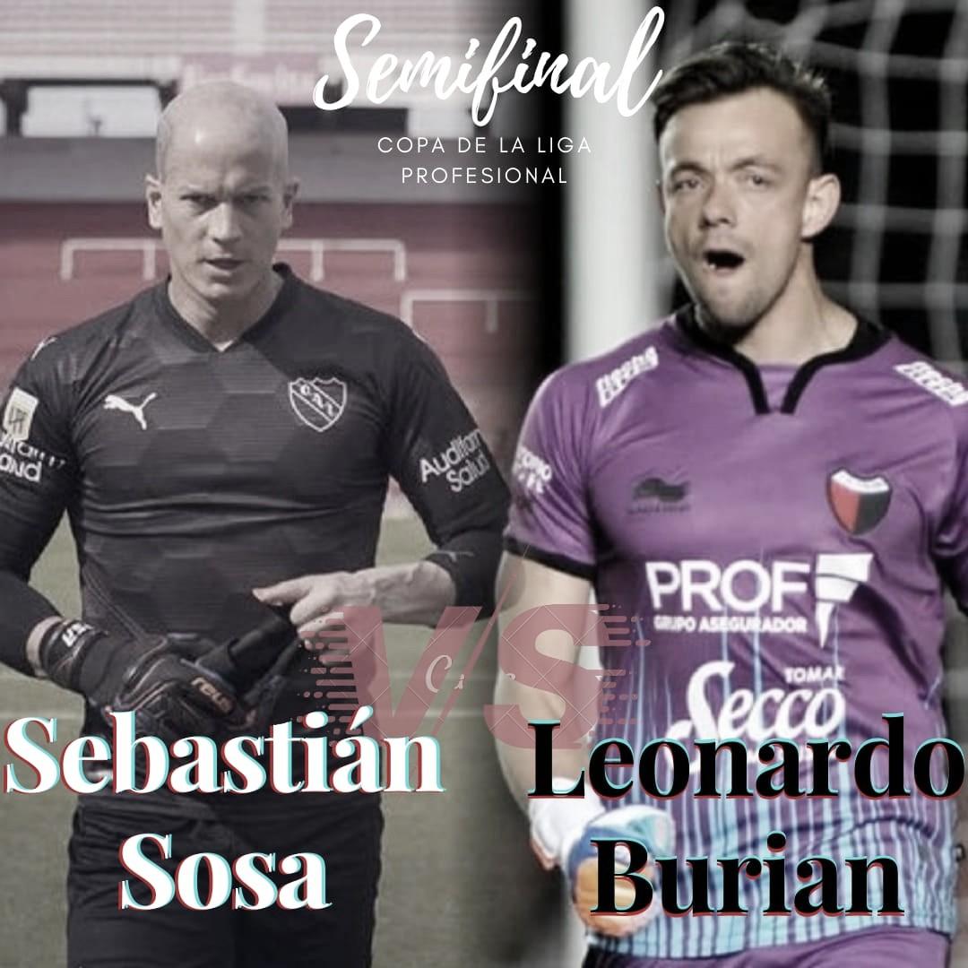 Sosa vs Burián: talento uruguayo