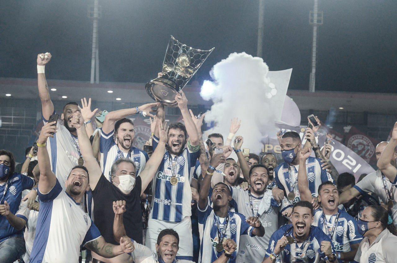 Azulão 40 vezes! CSA supera CRB nos pênaltis e conquista Campeonato Alagoano 2021