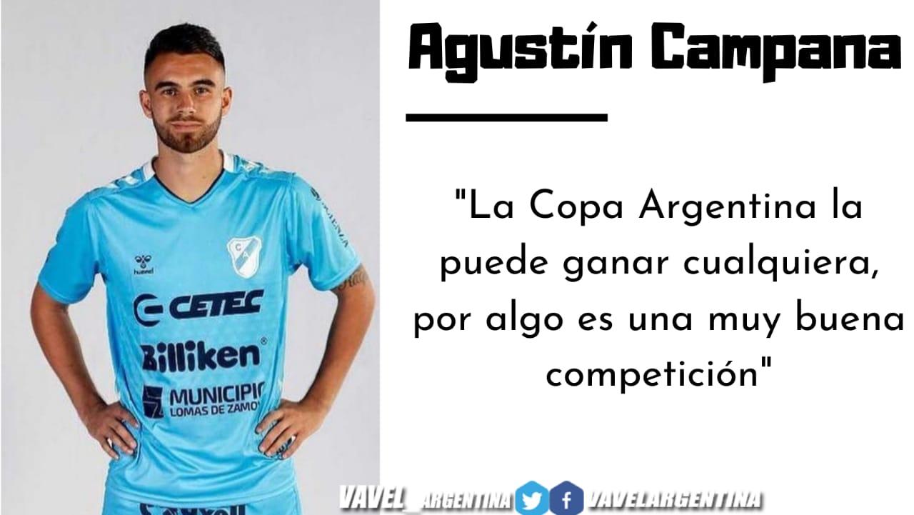 Agustín Campana: ''Al equipo lo veo muy bien''