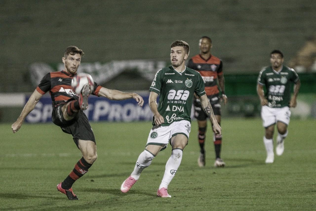 Guarani e Vitória ficam apenas no empate na primeira rodada da Série B