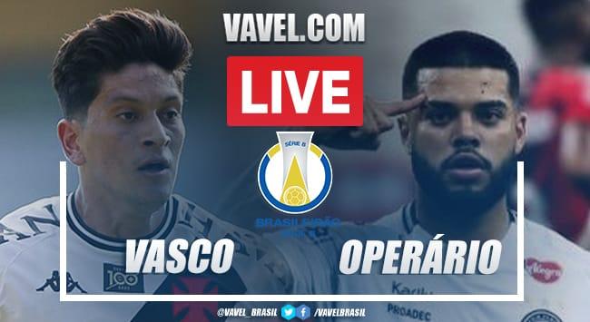 Gols e melhores momentos de Vasco 0 x 2 Operário pelo Campeonato Brasileiro Série B