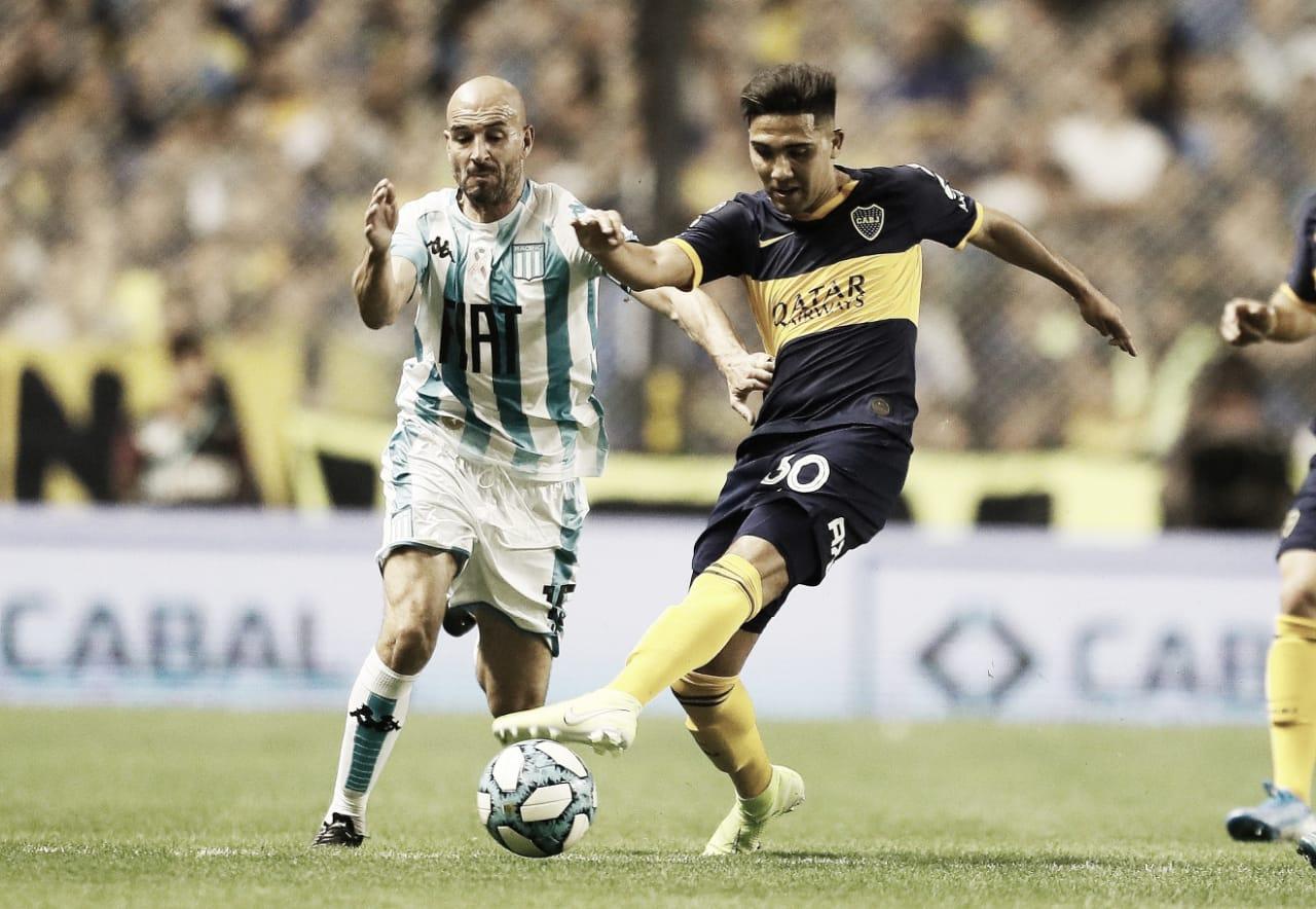 Semifinal; Racing vs Boca