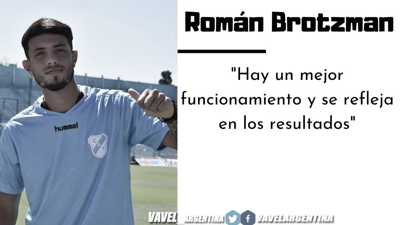 """RománBrotzman: """"Seguimos mejorando la idea de juego y tenemos más llegada al sector ofensivo"""""""