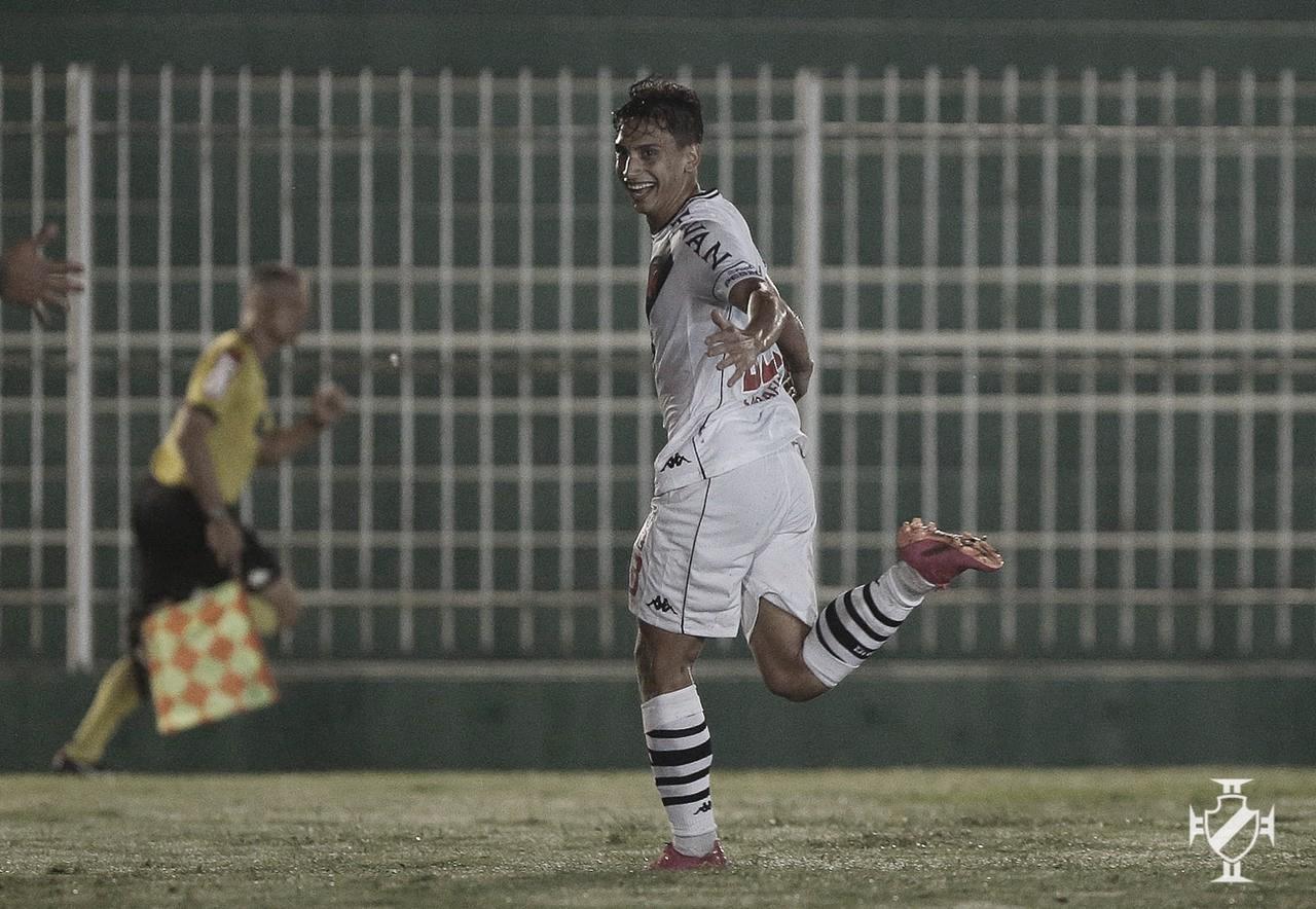Em sua estreia como titular, Sarrafiore dá vantagem ao Vasco contra Boavista na Copa do Brasil