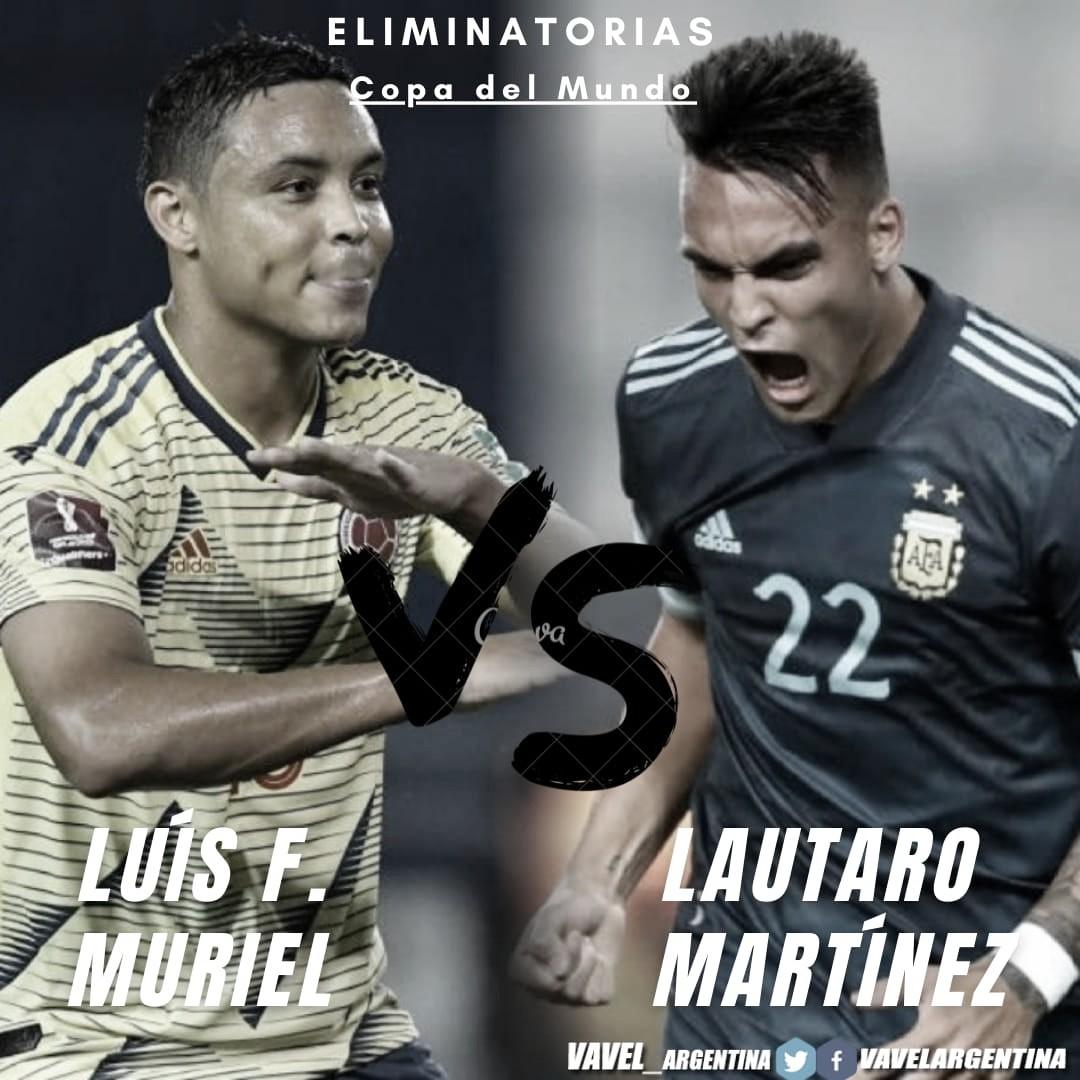 Lautaro Martínez vs Luis Muriel: Los arietes dañinos.
