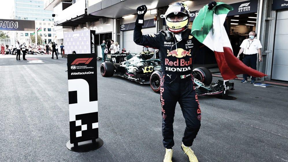 Pérez vence en un explosivo Gran Premio de Azerbaiyán