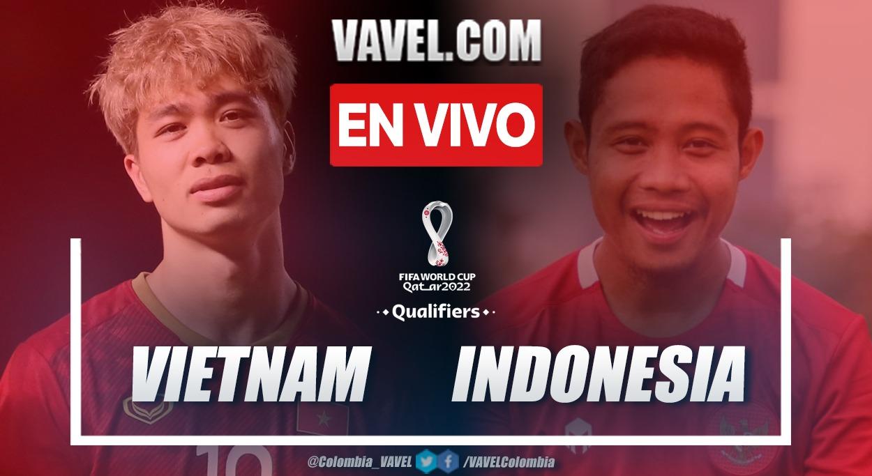 Resumen Vietnam vs Indonesia (4-0) en Eliminatorias al Mundial de Catar 2022