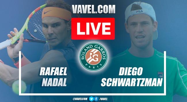 Highlights: Rafael Nadal vs Diego Schwartzman in Roland Garros 2021