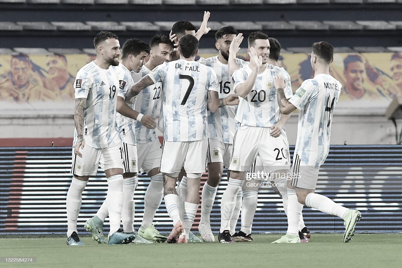 El uno por uno de la Selección Argentina contra la Selección Colombiana