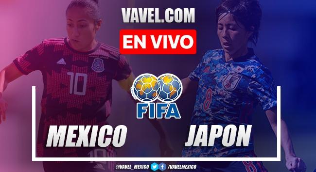 Goles y Resumen del México Femenil 1-5 Japón Femenil en Amistoso 2021