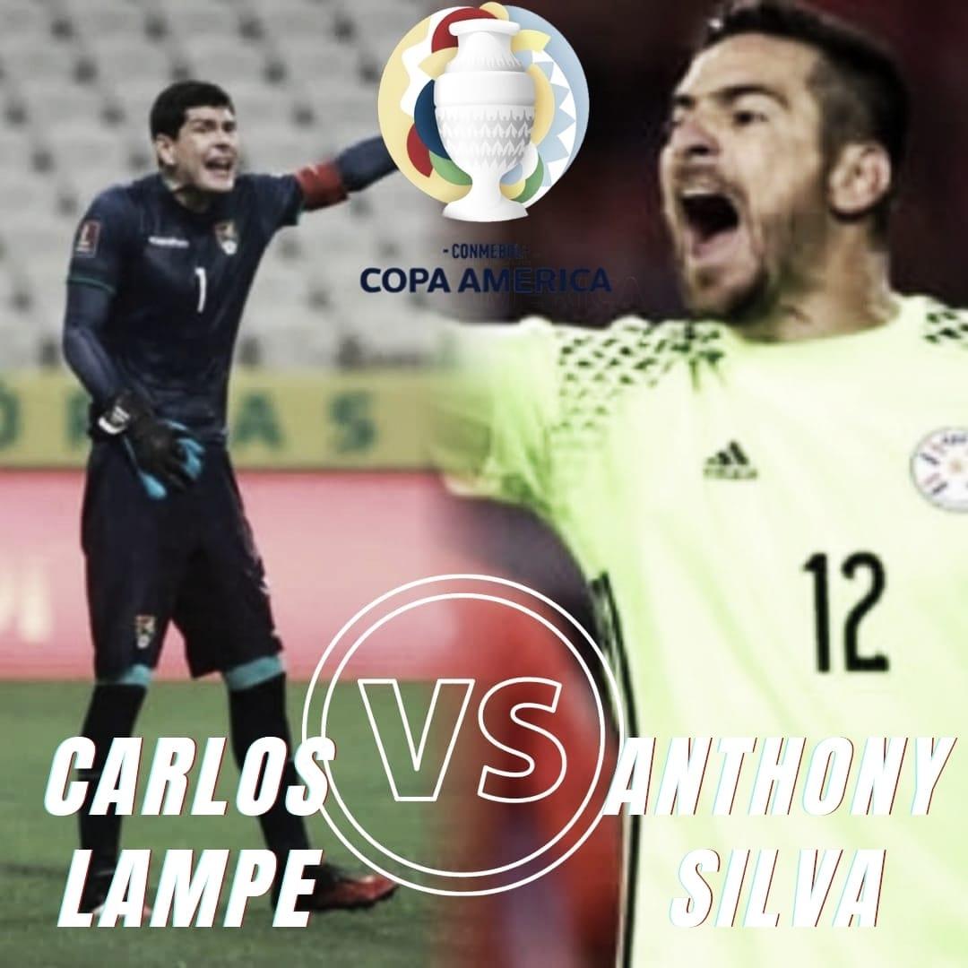 """Antony Silva vs Carlos Lampe: Objetivo del arco en """"cero""""."""