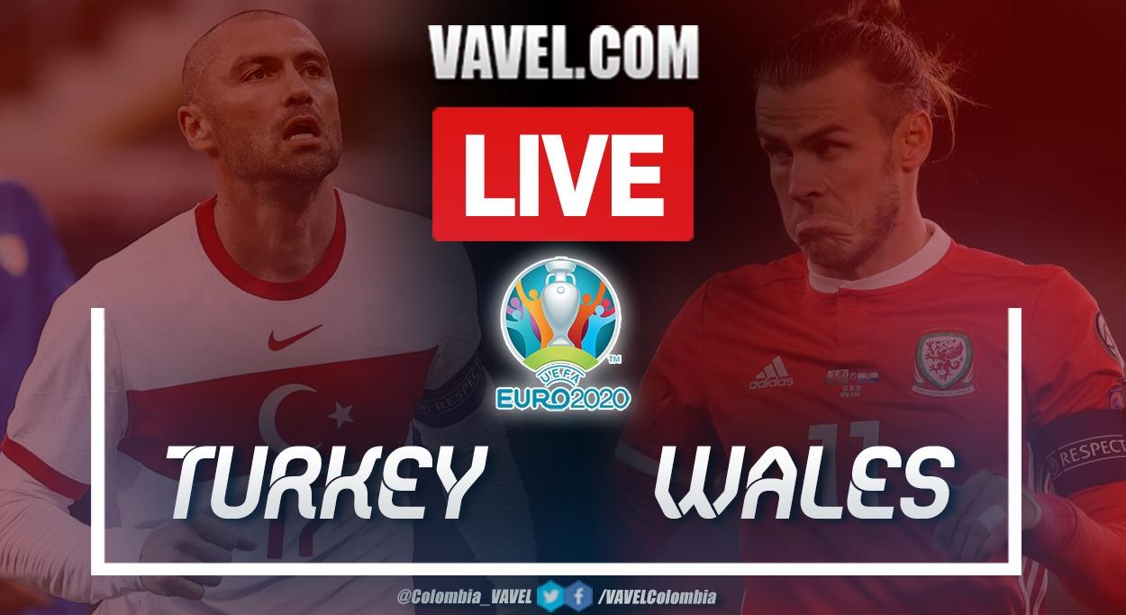 Goals and highlights: Turkey 0-2 Wales at UEFA Euro 2021