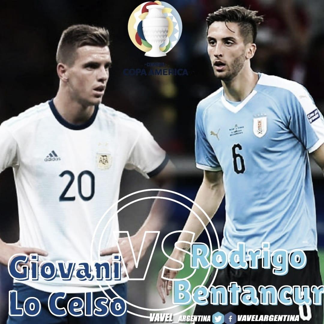 Giovanni Lo Celso vs Rodrigo Bentancur: Ejes de equipo.