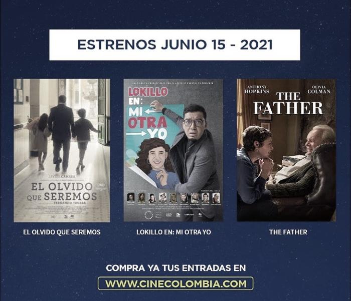 Cine Colombia reabre sus puertas a todo el público