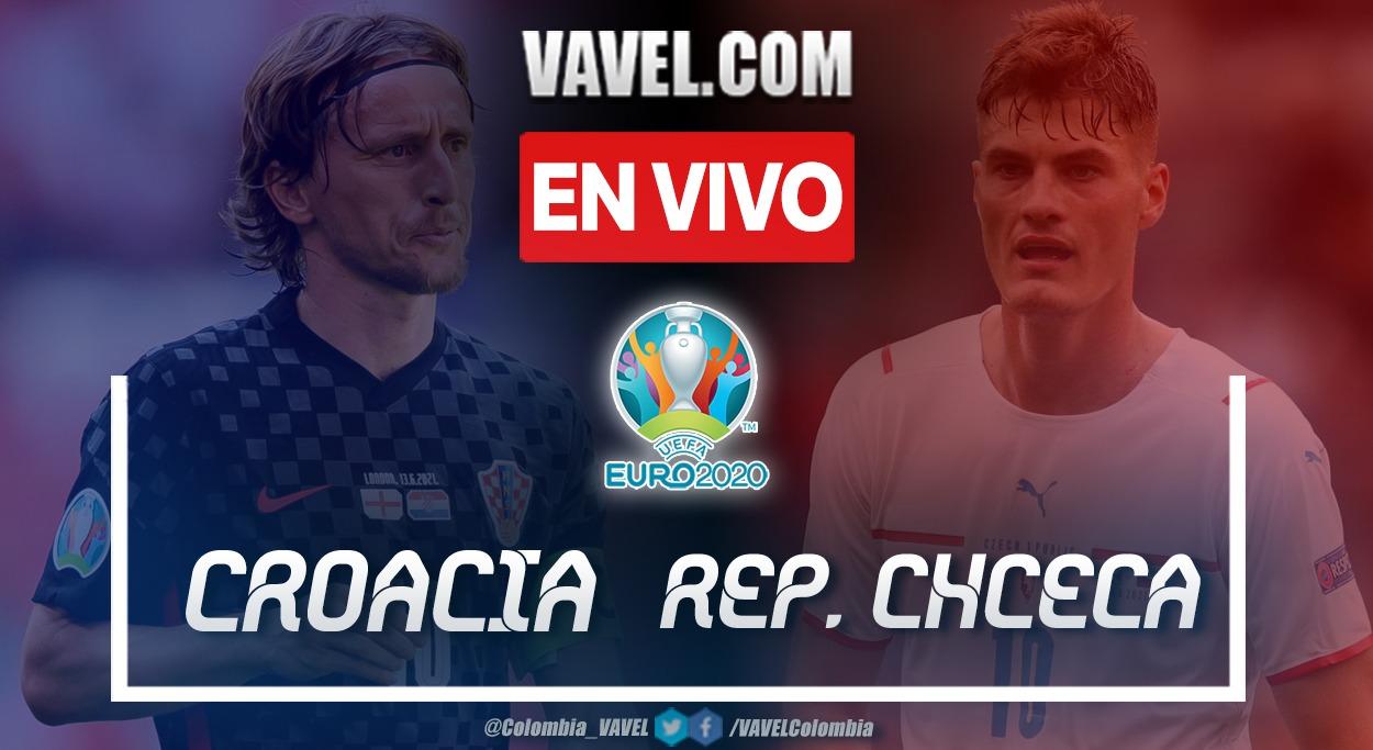 Goles y resumen del Croacia 1-1 República Checa en la Euro 2020