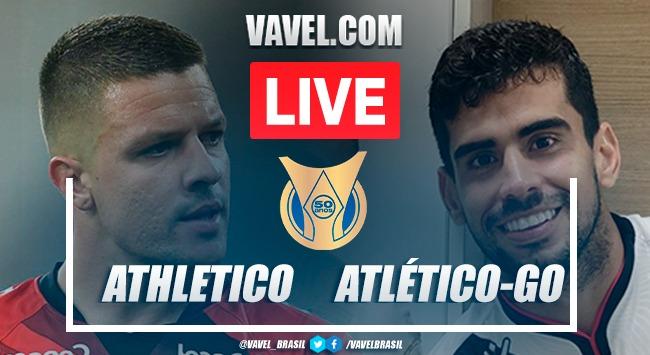 Gols e melhores momentos de Athletico-PR 2 x 1 Atlético-GO pelo Campeonato Brasileiro
