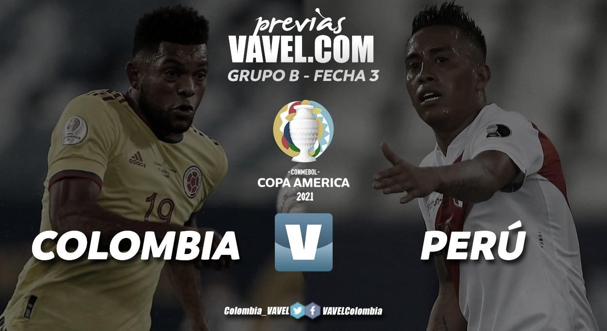Previa Colombia vs Perú: partido por la consolidación o la reivindicación