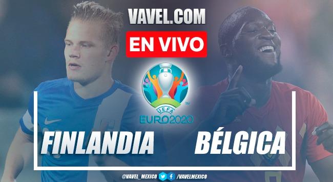 Goles y resumen del Finlandia 0-2 Bélgica en Euro 2020