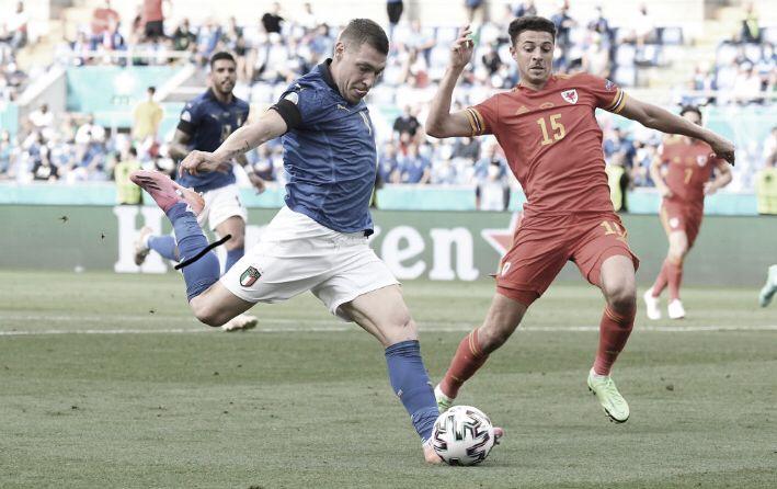 Italia - Gales: puntuaciones de Italia en la jornada 3 de la Euro 2020