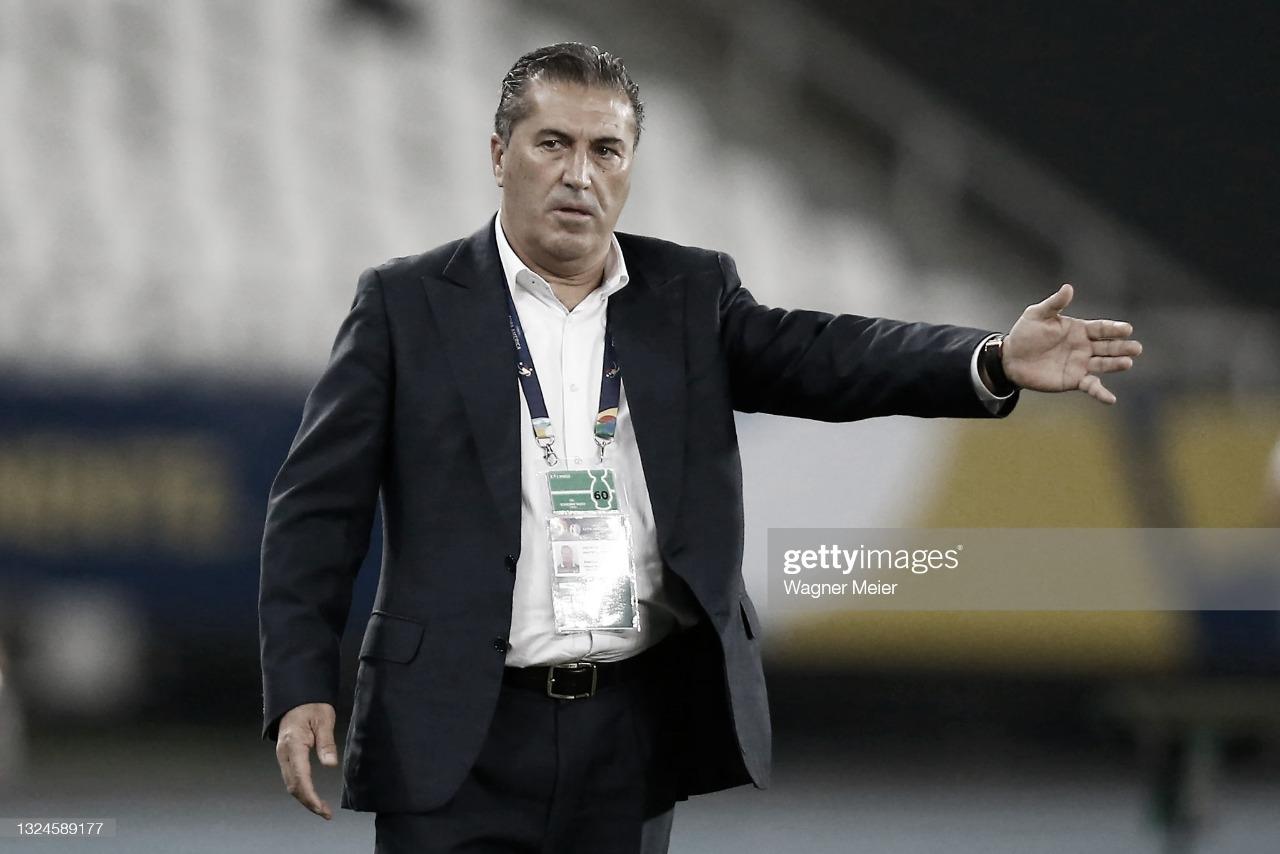 """José Peseiro: """"Planteamos un equipo para competir y dignificar la Copa América"""""""