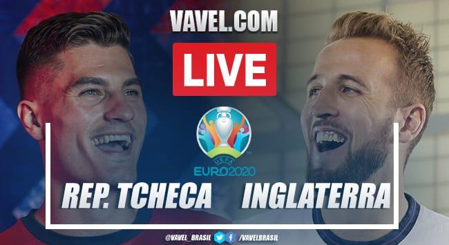 Gols e melhores momentos de República Tcheca 1x0 Inglaterra pela Eurocopa