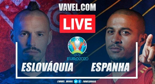 Gols e melhores momentos Eslováquia x Espanhapela Eurocopa (0-5)