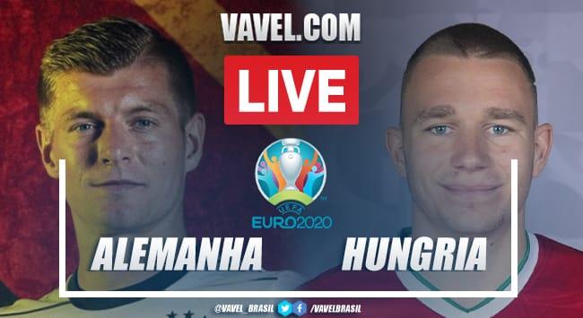 Gols e melhores momentos de Alemanha 2 x 2 Hungria pela Eurocopa