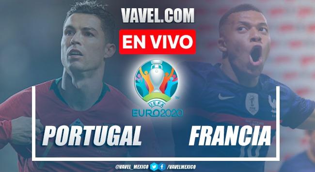 Goles y resumen del Portugal 2-2 Francia en Euro 2020