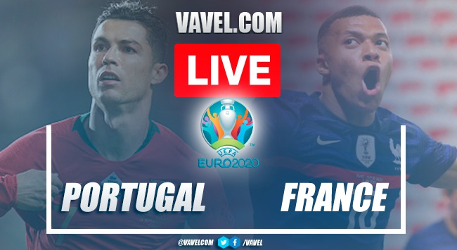 Goals and Highlights: Portugal 2-2 France in Euro 2020