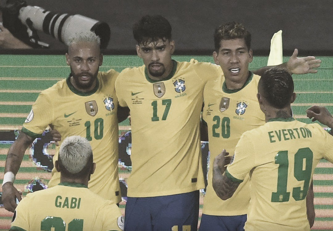 Pôlemica e gol nos minutos finais: Brasil consegue virada heroica sobre a Colômbia