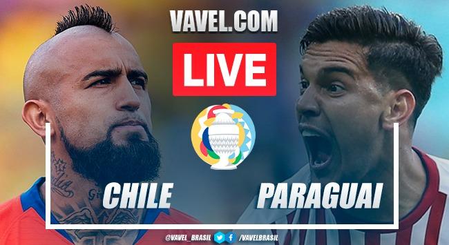 Gols e Melhores Momentos de Chile 0-2 Paraguai
