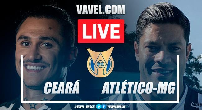 Gols e melhores momentos de Ceará x Atlético-MG pelo Campeonato Brasileiro (2-1)