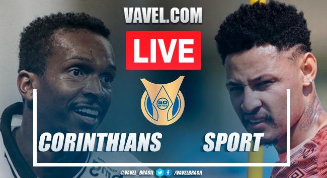 Gols e melhores momentos de Corinthians x Sport (2-1)