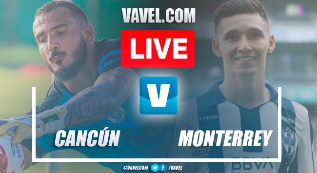 Goals and Highlights: Cancun 1-1 Monterrey in Friendly Match 2021