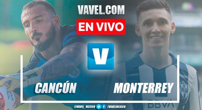 Goles y resumen del Cancún FC 1-1 Rayados Monterrey en Partido de Preparación 2021