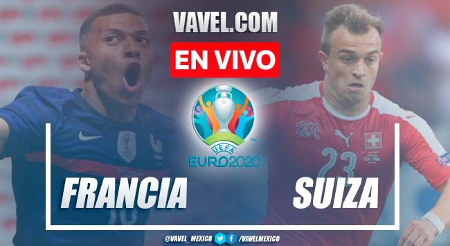 Resumen y goles: Francia 3(4)-(5)3 Suiza en Octavos de Final de la Euro 2020