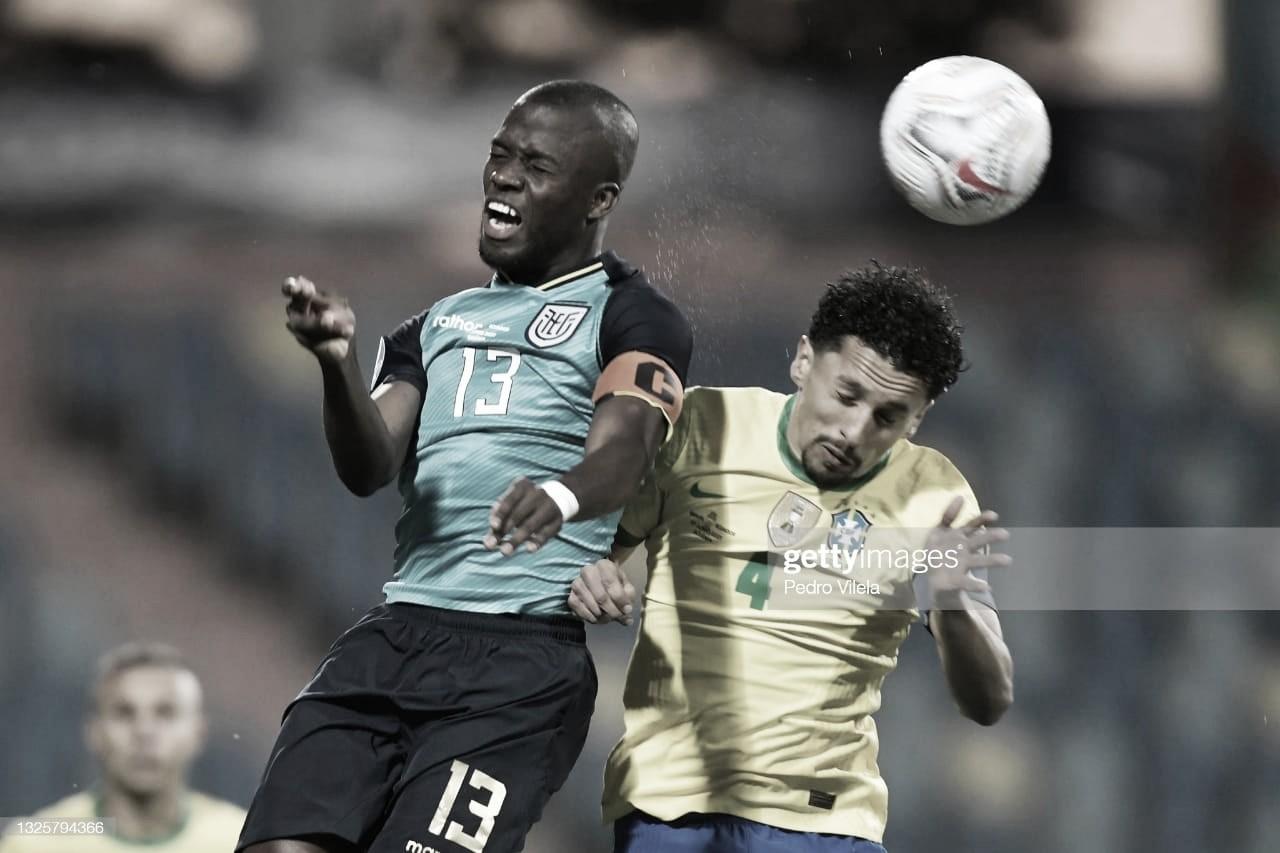 Enner Valencia llevó a Ecuador a los cuartos de final
