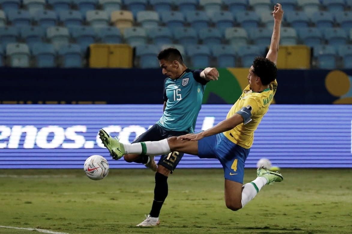 Ecuador empató y se clasificó a cuartos