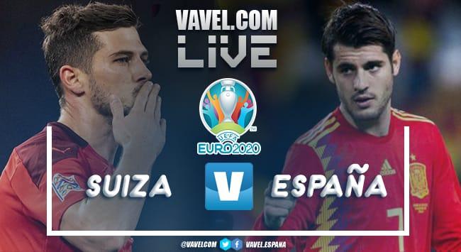 Resumen y goles: España 1 (3)-(1) 1 Suiza en Octavos de Final de la Euro 2020