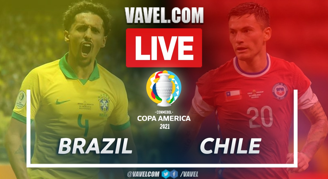 Goals and Highlights: Brazil (1-0) Chile in Copa América 2021