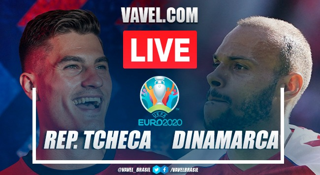 Gols e melhores momentos de Tchéquia x Dinamarca (1-2)