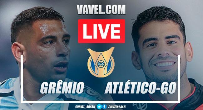 Melhores momentos Grêmio x Atlético-GOpelo Brasileirão 2021 (0-1)