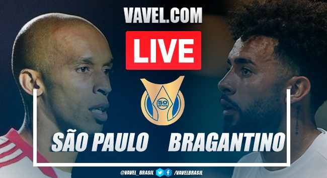 Gols e melhores momentos de São Paulo x RB Bragantino pelo Campeonato Brasileiro 2021 (1-2)