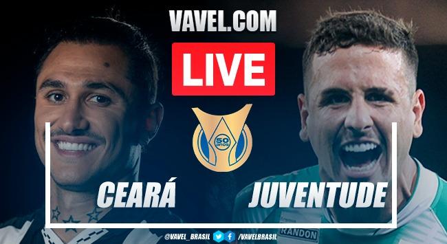 Gols e melhores momentos de Ceará x Juventude (2-0)