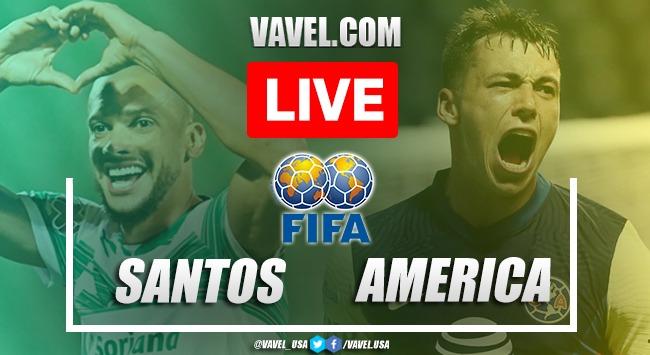 America vs Santos LIVE: Score Updates (0-0)