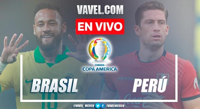Resumen y gol: Brasil 1 - 0 Perú en semifinal de Copa América 2021