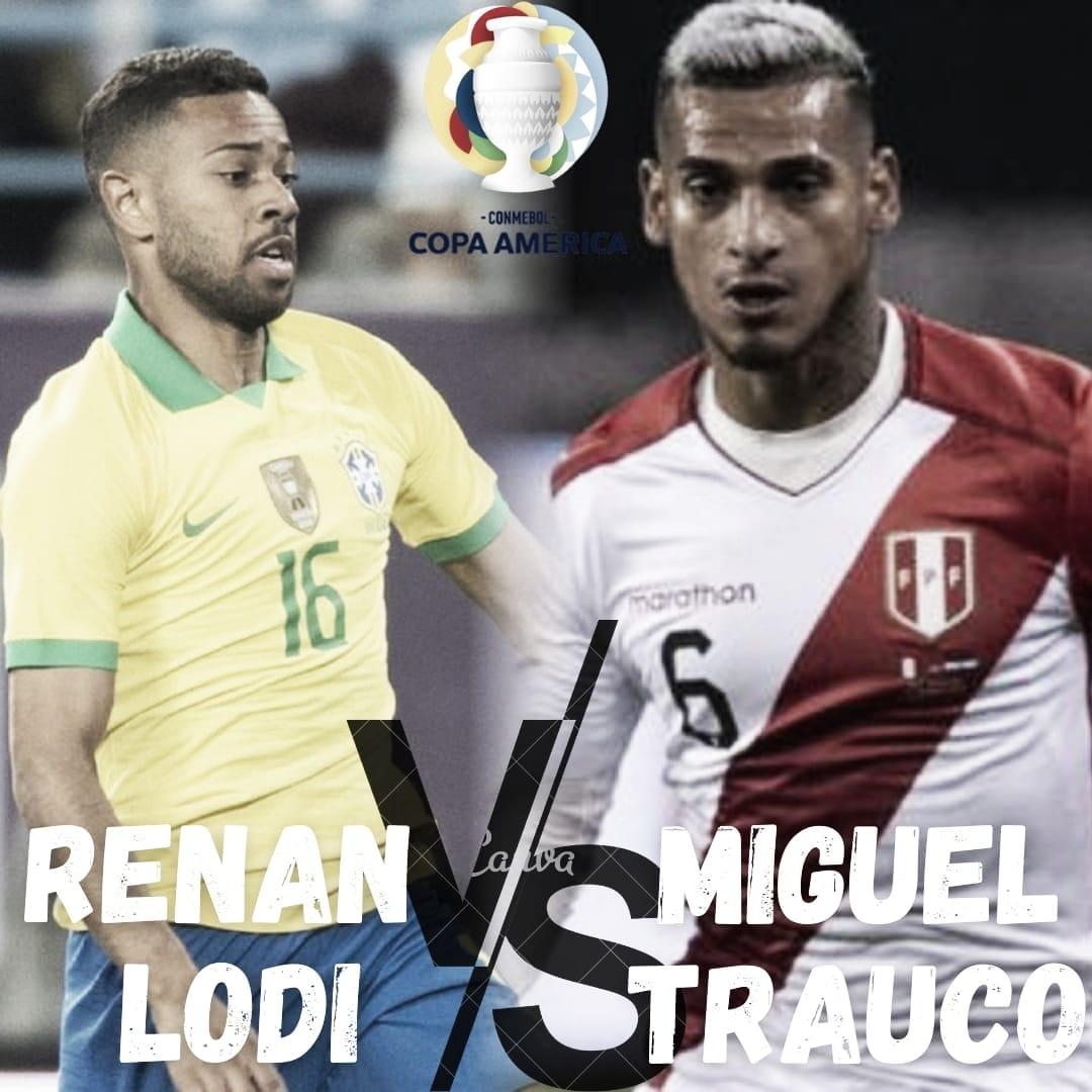 Cara a Cara Renan Lodi- Miguel Trauco: duelo de laterales por izquierda