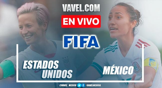 Goles y resumen del México 0-4 Estados Unidos en Amistoso Femenil 2021