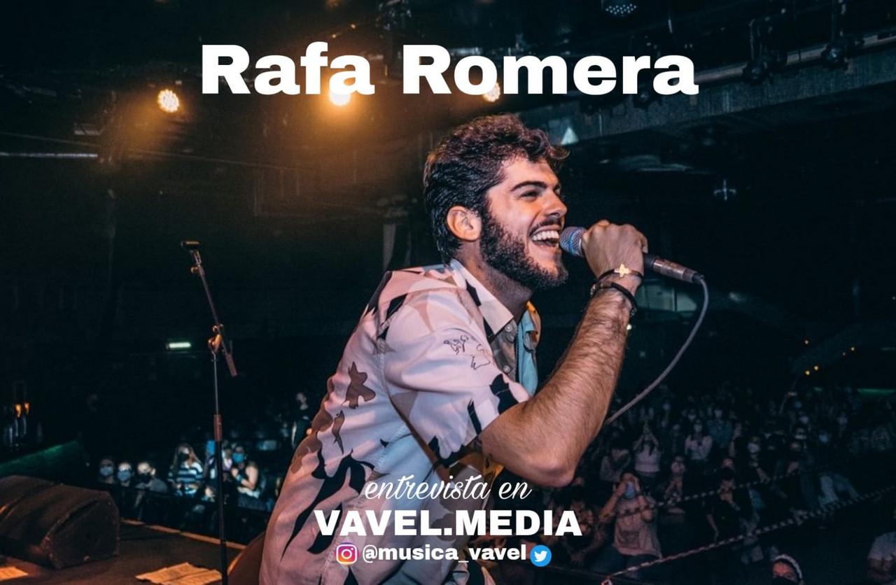 """Entrevista. Rafa Romera: """"Me gustaría transmitir un mensaje de buen rollo, de disfrutar los buenos momentos de la vida"""""""