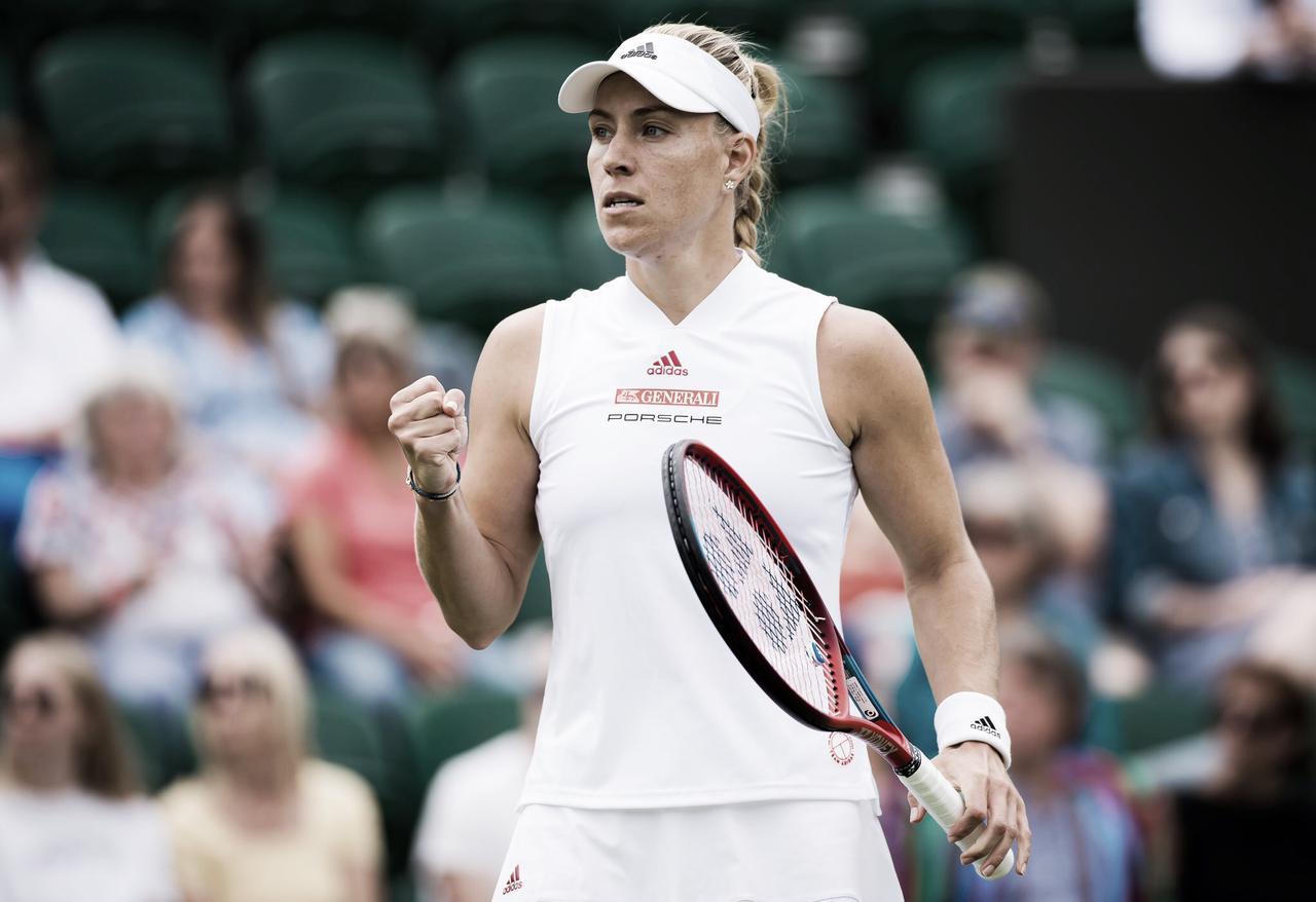Kerber bate Gauff e segue em busca do bicampeonato em Wimbledon